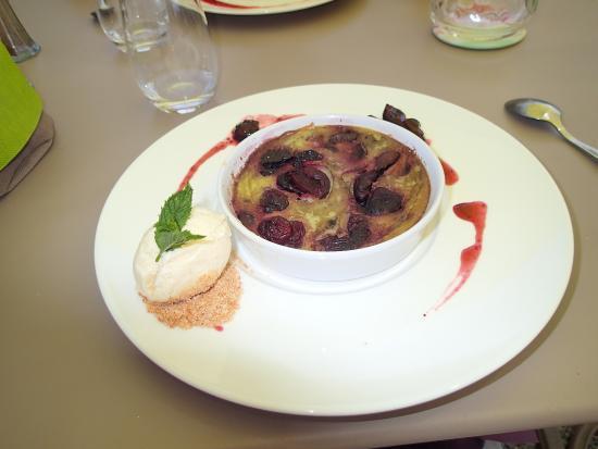 Saint-Pierre-la-Palud, Франция: un dessert