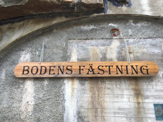 Boden, Sverige: Bohus fästning