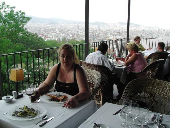 Xalet de Montjuic: ¡Un balcón con vistas a Barcelona!