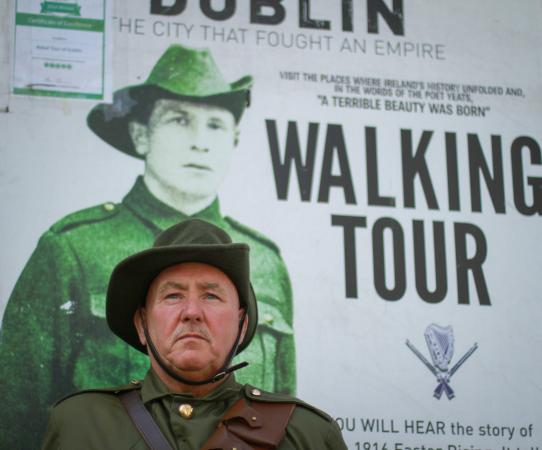 Rebel Tour of Dublin: The City That Fought an Empire : Rebel Walking Tour, Parnell Square