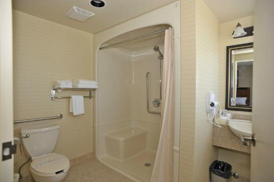 Monte Carlo Inn - Barrie Suites: Wheel Chair Accessible Restroom