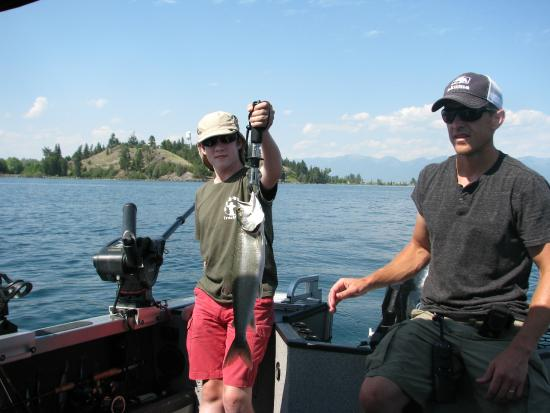 Photo provided by whitefish visitors bureau downtown for Whitefish montana fishing