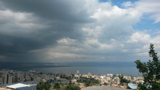 Tiberias, İsrail: город Тверия на Кинерете