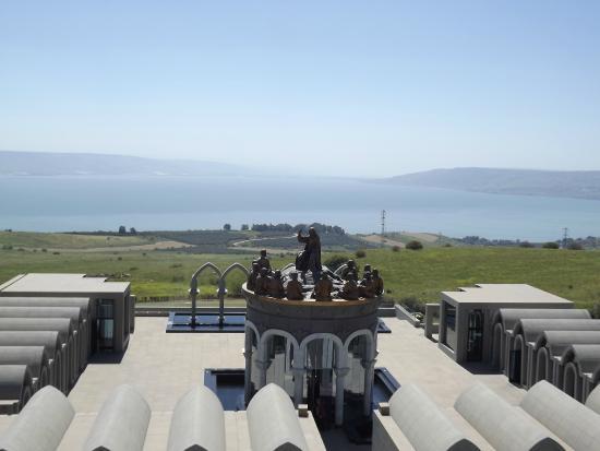 Tiberias, İsrail: Гора блаженств