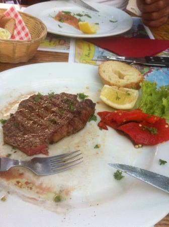 Tarantella: Vlees
