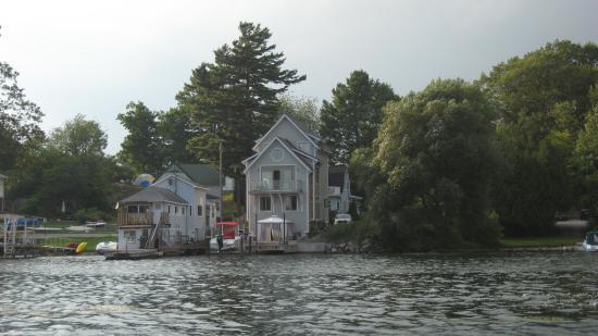 Gananoque, Kanada: Cottages in the Thousand Island