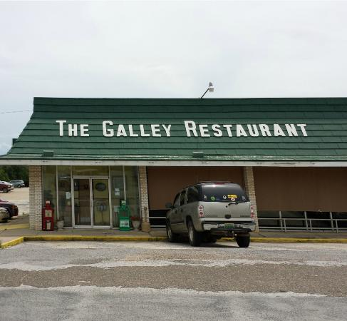 The Galley Restaurant, Haleyville, Alabama