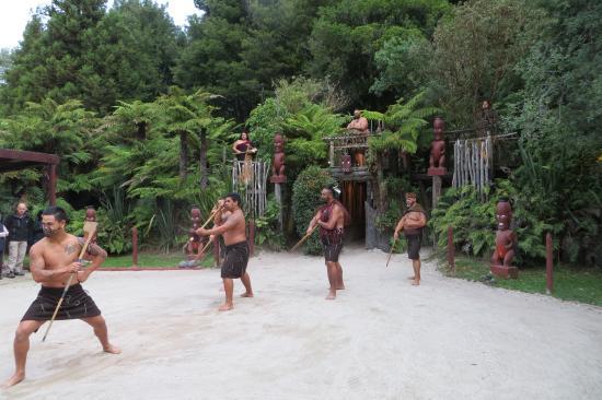 Rotorua, Nueva Zelanda: välkomnandet