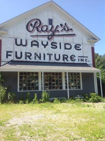 West Boylston, MA: Lots of antiques inside