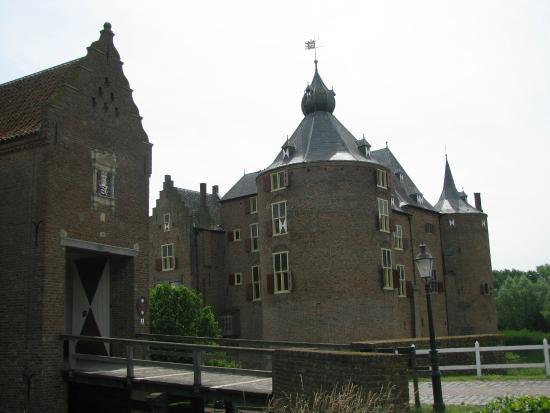 Provincia de Güeldres, Países Bajos: kasteel Ammersoyen