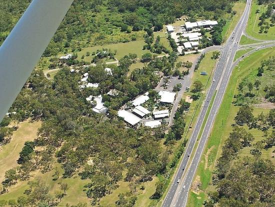 Capricorn Motel & Conference Centre: air view