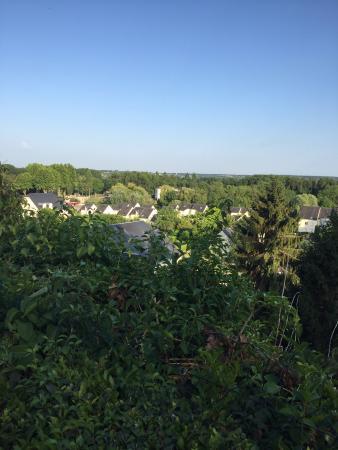 Chateau de Nazelles Amboise: View from Pavillion Lucas