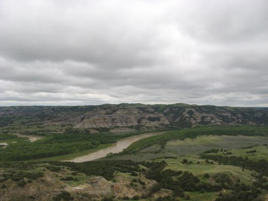 Theodore Roosevelt National Park, Βόρεια Ντακότα: Little Missouri River