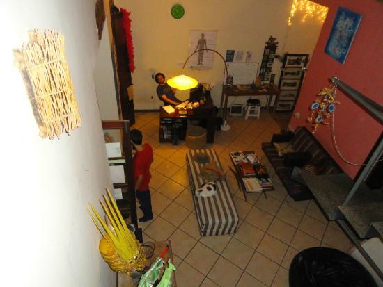 Valparaiso Hostel Rio: Recepção-sala