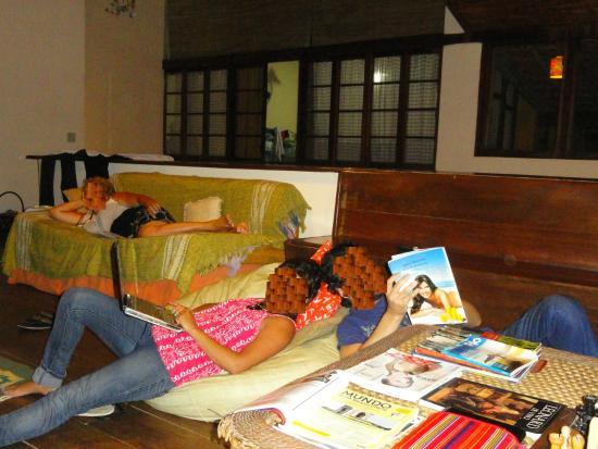 Valparaiso Hostel Rio: sala