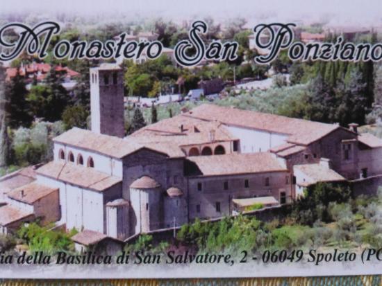 Casa Religiosa di Ospitalita San Ponziano : Vista del monastero dall'alto