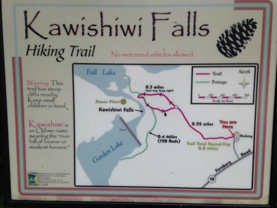 Ely, MN: Kawishiwi Falls Trail