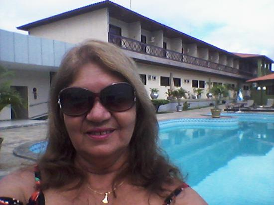 Hotel Estacao Cruzeiro : piscina ,e quartos do primeiro andar