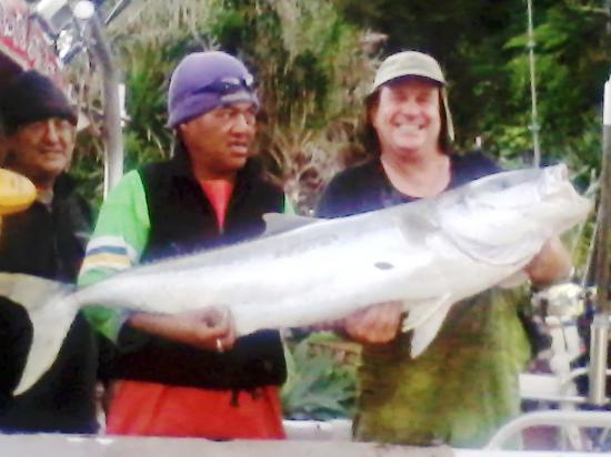 Oakura, New Zealand: A fine Kingfish