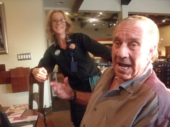Olive Garden: dawn, our waitress