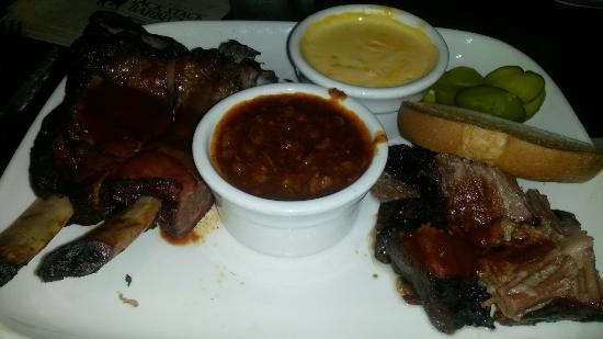 Jack Stack Barbecue - Martin City: Kansas City Choose Two - Burnt Ends/Beef Ribs