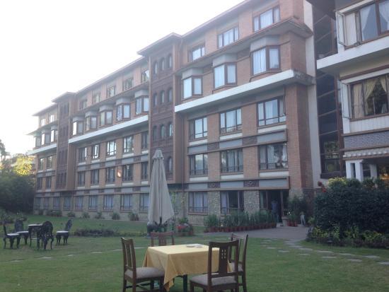Malla Hotel: Der wunderschöne Garten/Park