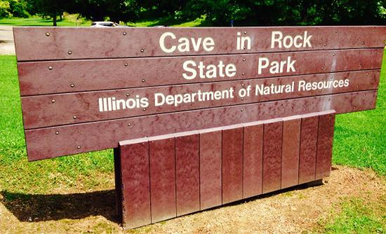 Cave in Rock, IL: Nice Park