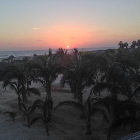 Sunset from Room 17