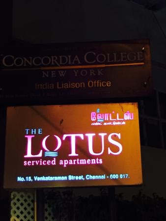 The Lotus Apartment Hotel - Venkatraman Street Aufnahme