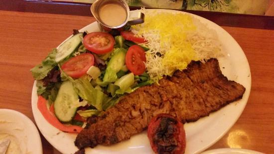 Kabob Hutt: Juicy chicken and filet mignon