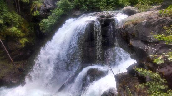 Mazama, WA: The falls