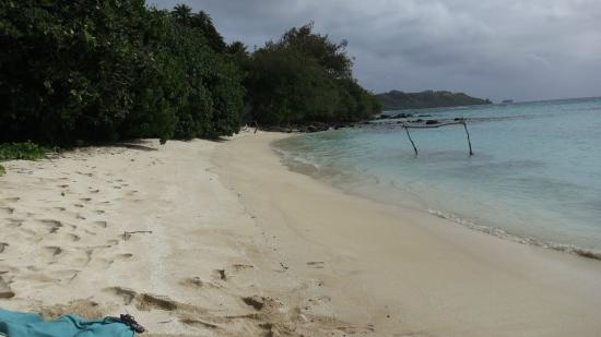 Pension Chez Linda : And another empty beach