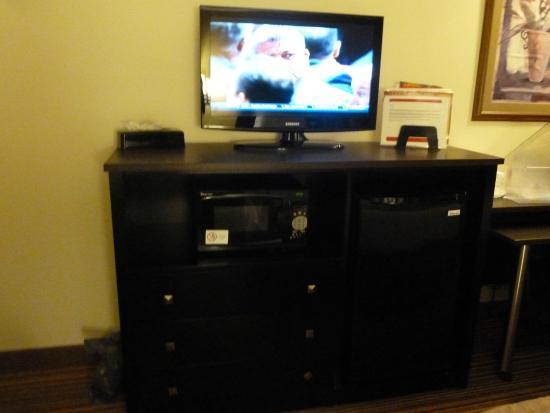 Ramada Wisconsin Dells: flat screen TV