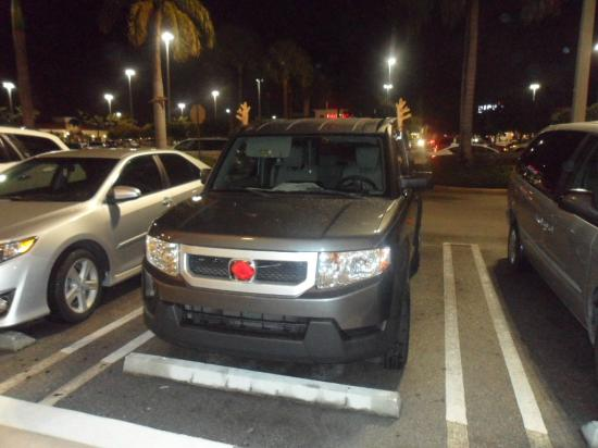 Town And Country Honda >> Navidad Estacionamiento Picture Of The Palms At Town