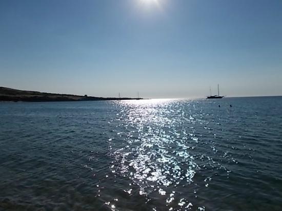 Isola Rossa, Italie : mare