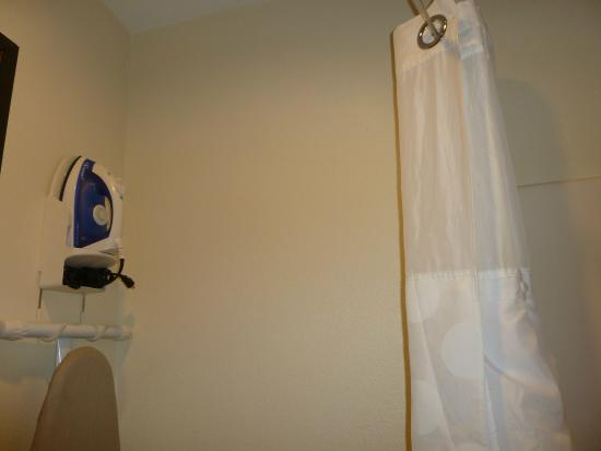 Ramada Wisconsin Dells: shower curtain
