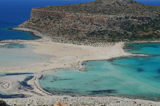 Balos - Picture of Balos Beach and Lagoon, Kissamos ...