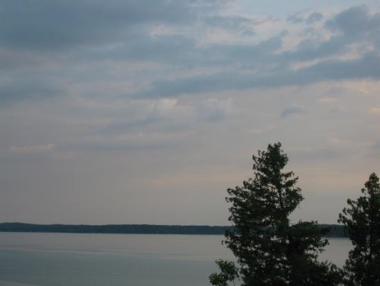 Torch Lake Bed & Breakfast: View from upper deck