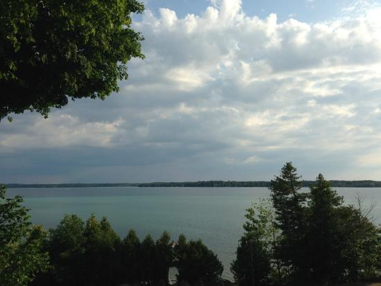 Torch Lake Bed & Breakfast: view from outside room