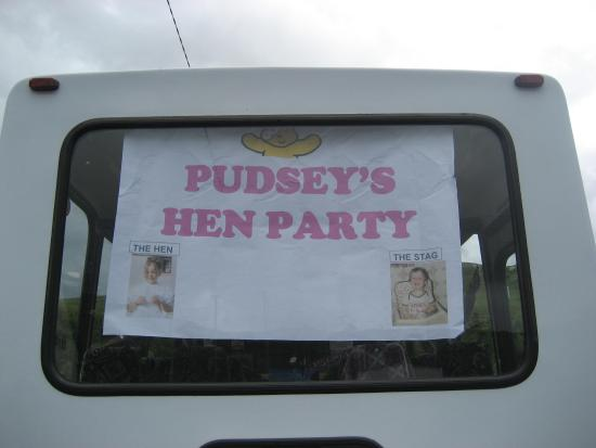 Donegal Town, Ierland: Hen party