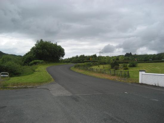 Exit to Donegal town