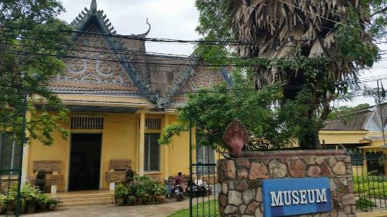 Entrance to the Battambang Provincial Museum