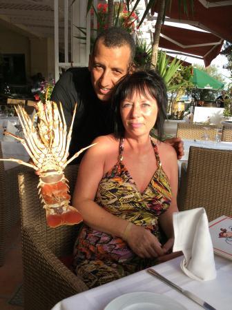 La Bouillabaisse: Larry The Lobster