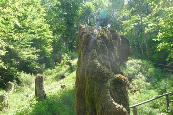 Landau an der Isar, Nemecko: Wachsender Felsen 1