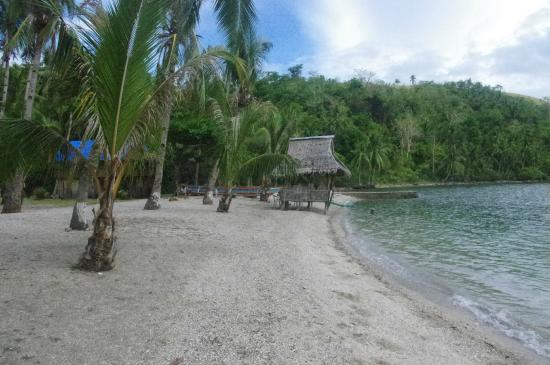 Catbalogan, Filippinene: General view of Bagatao island beach