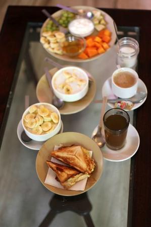 Krishna Palace: Завтрак