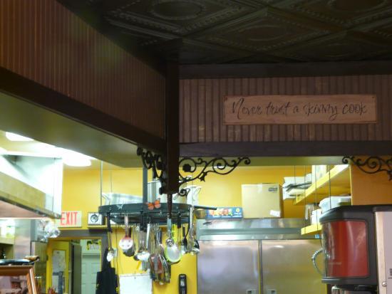Spring City, UT: Never trust a skinny cook !