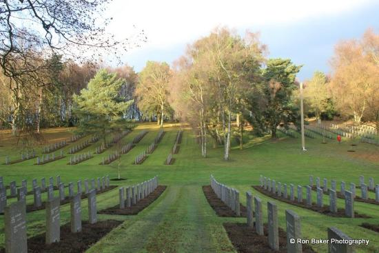 Cannock Chase German War Cemetery
