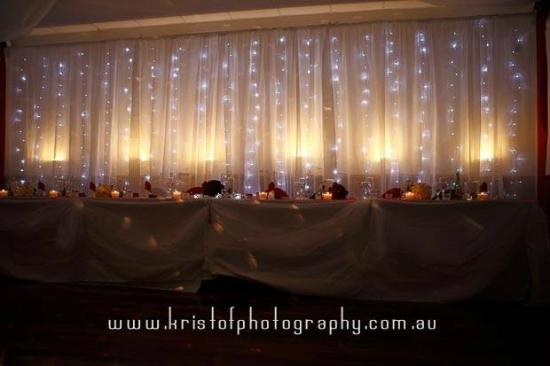 Wedding Reception February 2014 Bridal Table Background Picture Of