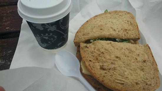 The Sandwich Station: Soup and a sandwich